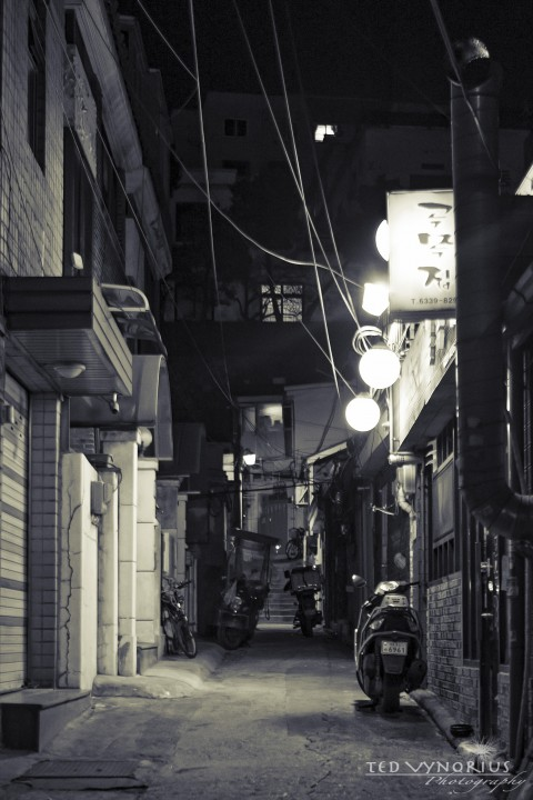 Alleyways….