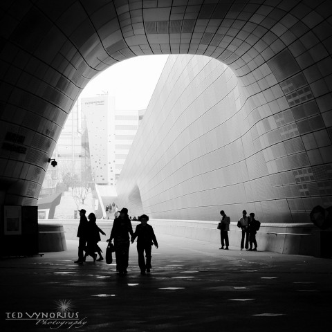 Visit to DongDaeMun Plaza….
