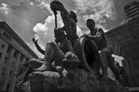 Statues of NamDaeMun