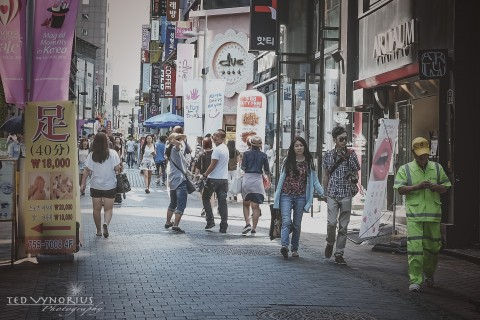 "MyeongDong – ""Chic Shopping"" Area for Koreans"