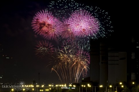 Fireworks on the River…
