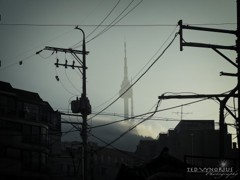 Namsan Tower and Clouds…