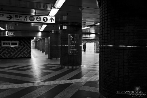Seoul Subway Adventure…